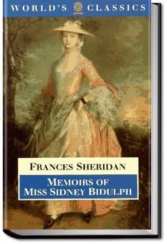 Memoirs of Miss Sidney Biddulph | Frances Chamberlaine Sheridan