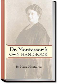 Dr. Montessori's Own Handbook | Maria Montessori