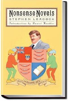 Nonsense Novels | Stephen Leacock