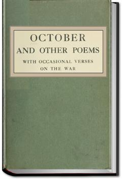 October and Other Poems | Robert Bridges