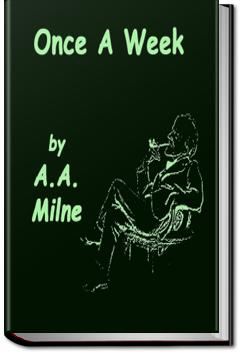 Once a Week   A. A. Milne