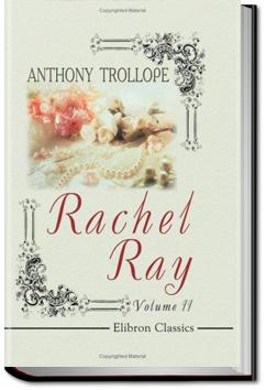Rachel Ray | Anthony Trollope