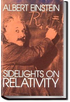 Sidelights on Relativity | Albert Einstein