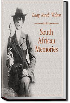 South African Memories | Lady Sarah Wilson
