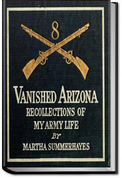 Vanished Arizona | Martha Summerhayes
