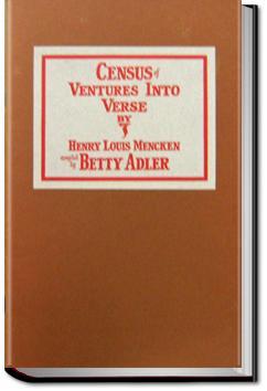 Ventures Into Verse | H. L. Mencken