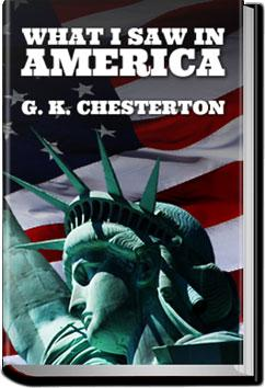 What I Saw in America | G. K. Chesterton