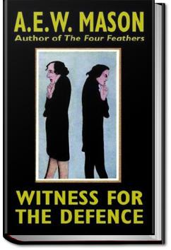 Witness for the Defence   A. E. W. Mason