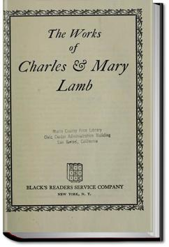 The Works of Charles and Mary Lamb - Volume 2 | Charles Lamb