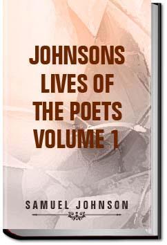 Johnson's Lives of the Poets - Volume 1   Samuel Johnson