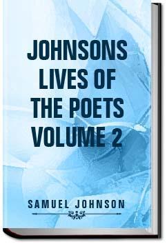 Johnson's Lives of the Poets - Volume 2 | Samuel Johnson
